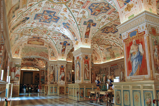 Vatican City Library Rome