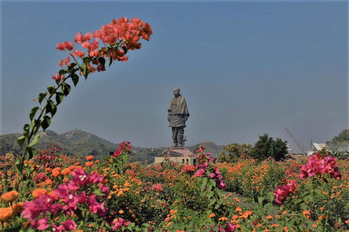 Statue of Unity Flower of Valley