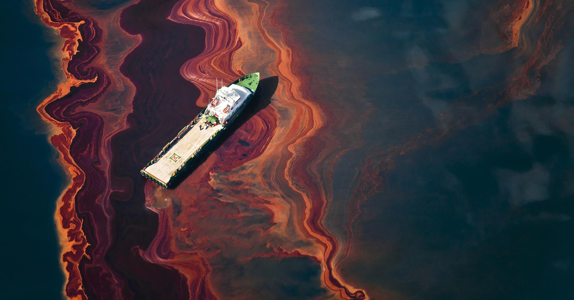 The Oil Spill & Marine Pollution