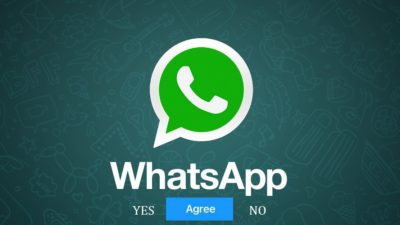 Accept WhatsApp New Privacy Policy