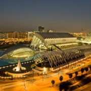A Futuristic City of Arts & Science Valencia Spain