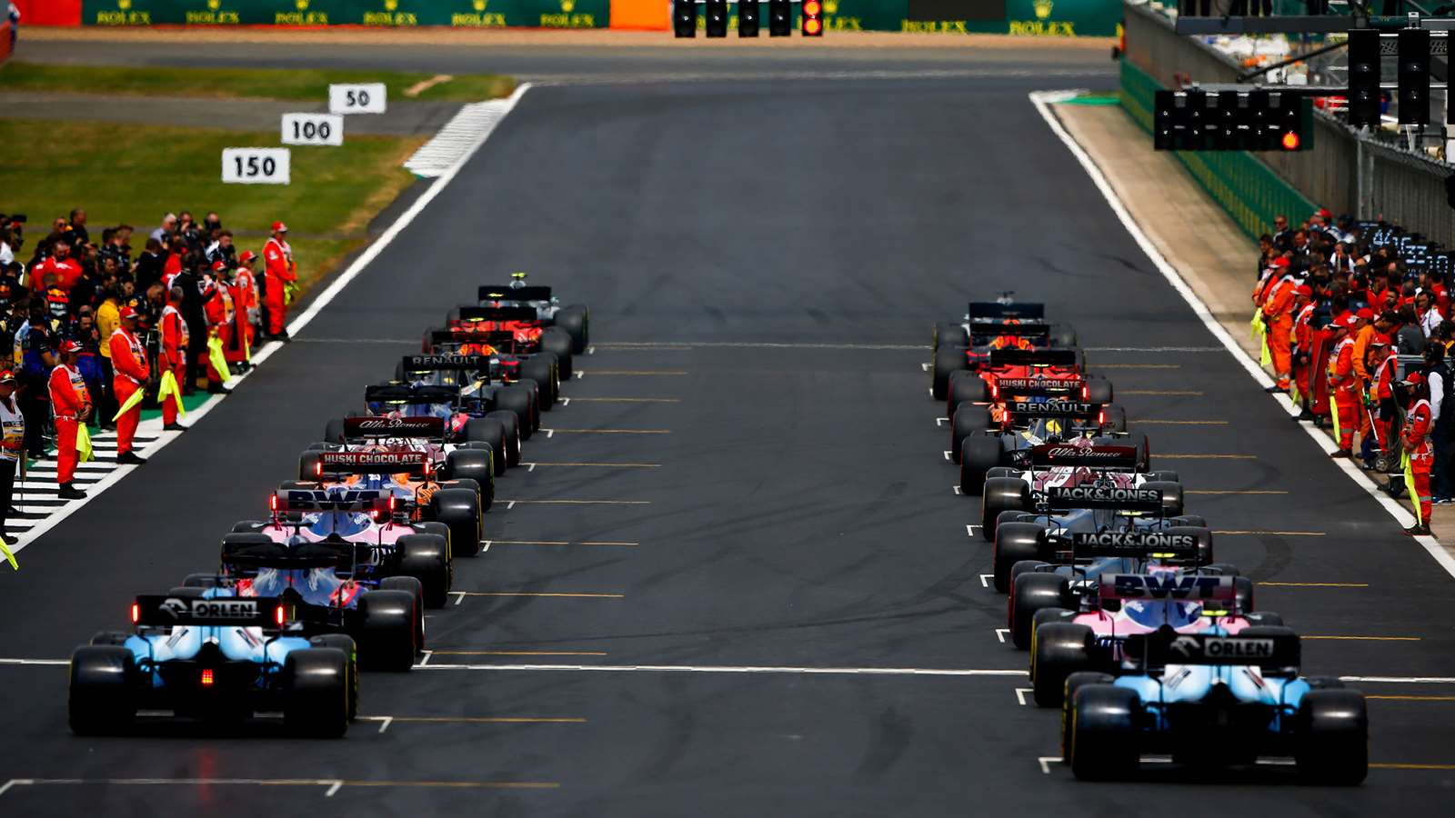2021 Formula 1 Rules Season With Revised Race Weekends & Practice Sessions